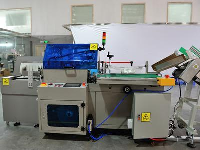 Thermal contraction package machine