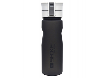 24oz Rubber Coated Tritan Water Bottle with Lock Lid